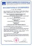Certyfikat Zgodności (CE)
