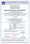 Certyfikat Zgodności 2010